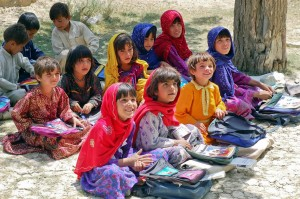 Children in Afghan School