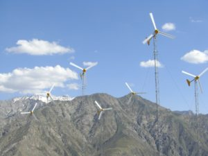Afghanistan wind farm