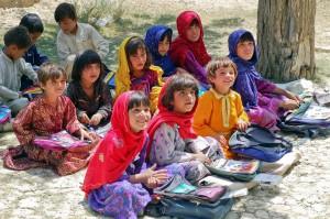 Children in Afghan School