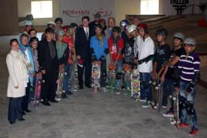 youth skateboarders