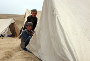 displaced Afghans