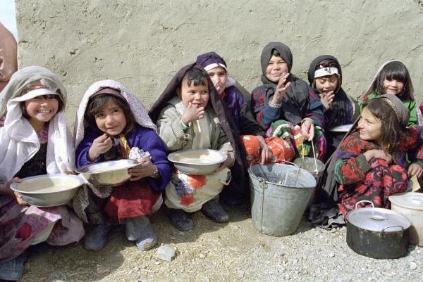 children in afghanistan